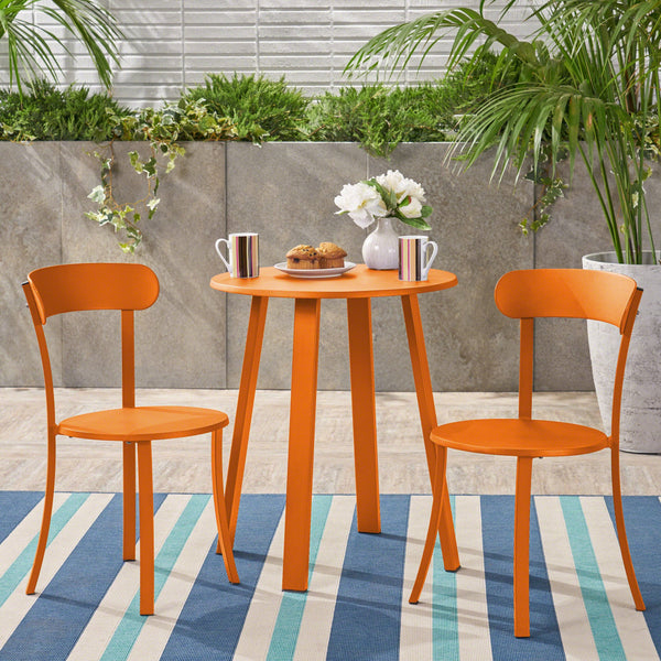 Outdoor Iron Bistro Set - NH659403