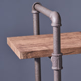 Industrial Pipe Design 3-Shelf Etagere Bookcase - NH142503