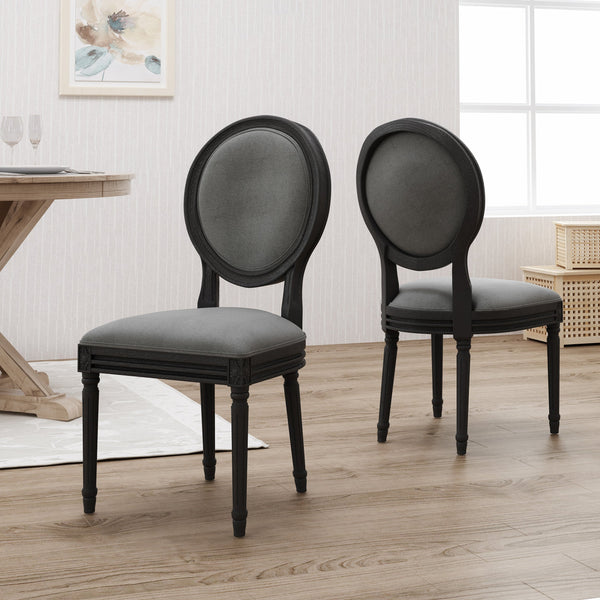 Traditional Fabric Dining Chairs - NH666503