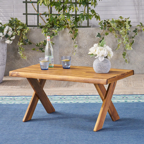 Outdoor Acacia Wood Coffee Table - NH214403