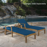 Outdoor Water Resistant Chaise Lounge Cushion (Set of 2) - NH899303