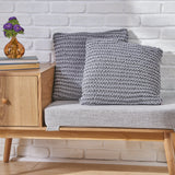 Knitted Cotton Pillow - NH168503