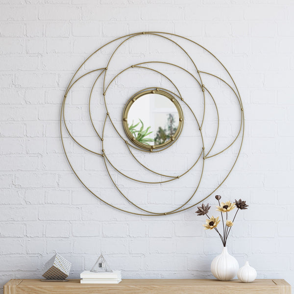 Modern Circular Wall Mirror - NH943503