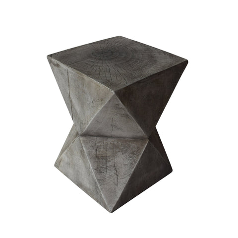 Outdoor Light-Weight Concrete Accent Table - NH638503