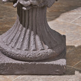 Garden Urn Planter, Roman, Botanical, Lightweight Concrete - NH614703