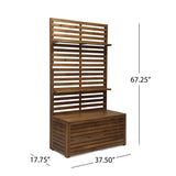 Outdoor Wooden Hall Tree - NH330903