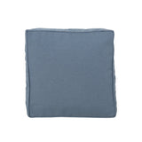 "Indoor Water Resistant 18"" Square Throw and 12""x20"" Rectangular Lumbar Pillow Set (Set of 4) - NH460803"