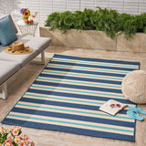 Outdoor Geometric Area Rug - NH729403
