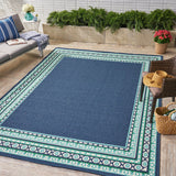 Outdoor Border Area Rug - NH219403