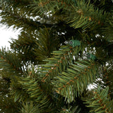 7-foot Noble Fir Hinged Artificial Christmas Tree - NH033703