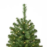 7-foot Noble Fir Pre-Lit Clear LED Hinged Artificial Christmas Tree - NH541113