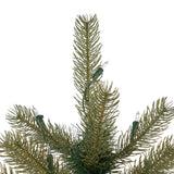 4.5-foot Mixed Spruce Hinged Artificial Christmas Tree - NH903703