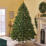 7.5-foot Norway Spruce Hinged Artificial Christmas Tree - NH543703