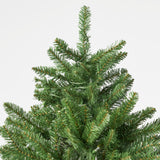 7.5-foot Norway Spruce Pre-Lit Clear LED Hinged Artificial Christmas Tree - NH051113