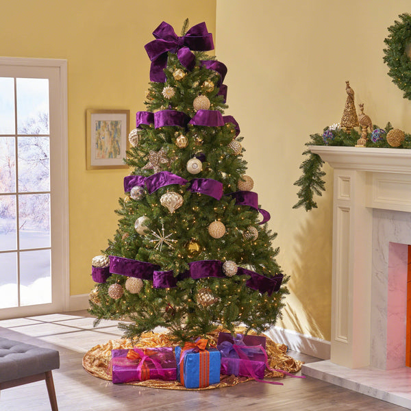 7.5-foot Fraser Fir Hinged Artificial Christmas Tree - NH603703