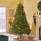 9-foot Fraser Fir Hinged Artificial Christmas Tree - NH813703