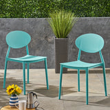 Outdoor Plastic Chairs (Set of 2) - NH315603