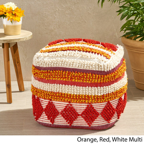 Outdoor Cube Pouf - NH026703