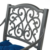 Outdoor Barstool with Cushion (Set of 2) - NH581013