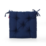 Outdoor Fabric Classic Tufted Chair Cushion - NH130013