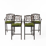 Outdoor Barstool with Cushion (Set of 4) - NH071013