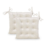 Tufted Velvet Dining Chair Cushion Pads (Set of 2) - NH578013