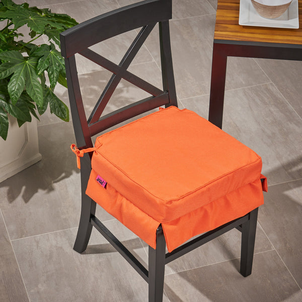 Outdoor Fabric Classic Skirted Chair Cushion - NH630013