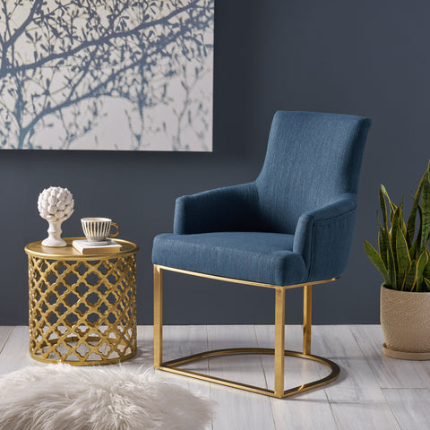 MacMillan Modern Glam Fabric Accent Chair - NH211803