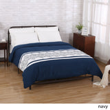 Queen Size Fabric Duvet Cover - NH641903