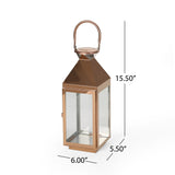 Modern Stainless Steel Lantern Set - NH761213