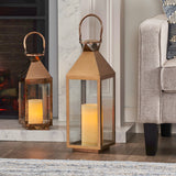Modern Stainless Steel Lantern Set - NH561213