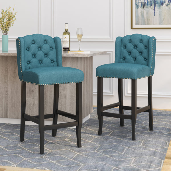 Wingback Barstool (Set of 2) - NH043113