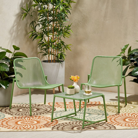 Outdoor Modern 2 Seater Chat Set - NH183113