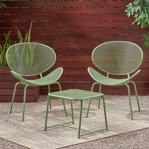 Outdoor Modern 2 Seater Chat Set - NH583113