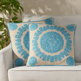 Modern Fabric Throw Pillow Cover - NH686013