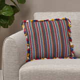 Modern Fabric Throw Pillow Cover - NH496013