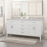 "72"" Wood Bathroom Vanity (Counter Top Not Included) - NH658703"