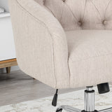 Tufted Home Office Chair with Swivel Base - NH411903