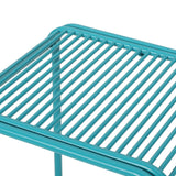 Outdoor Modern Iron Side Table - NH327013