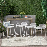 Modern Iron Barstool (Set of 4) - NH618013