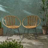 Outdoor Wicker Dining Chairs (Set of 2) - NH589903