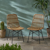 Outdoor Wicker Dining Chair (Set of 2) - NH199903