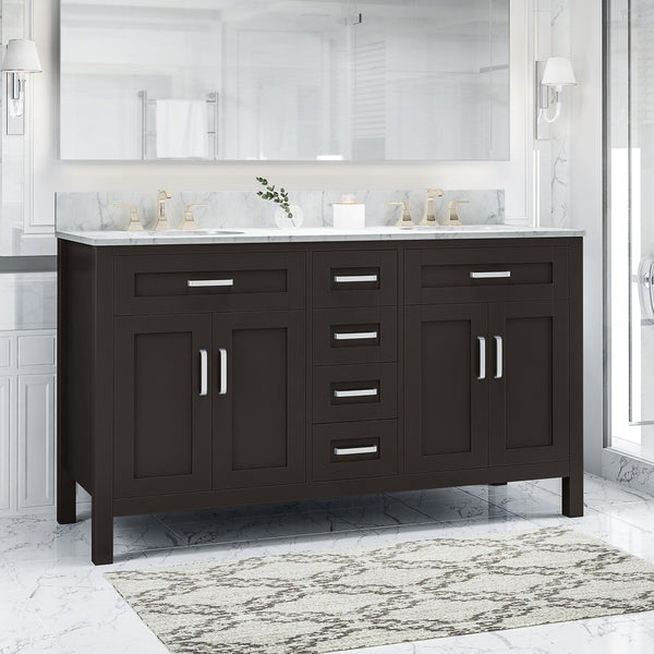 "60"" Wood Bathroom Vanity (Counter Top Not Included) - NH358703"