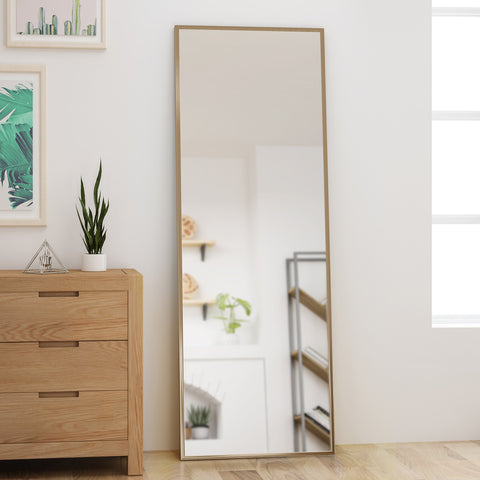 Modern Rectangular Standing Mirror - NH169803