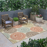 Outdoor Medallion Area Rug - NH295803
