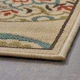 Outdoor Medallion Area Rug - NH306803