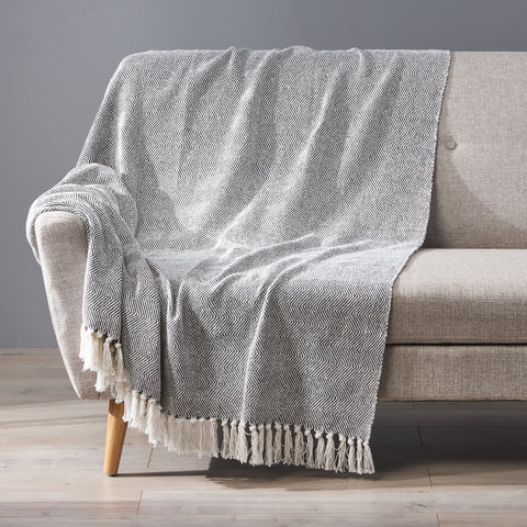 Fabric Throw Blanket - NH177013