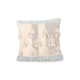 Boho Cotton Throw Pillow - NH595113