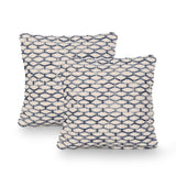 Boho Cotton Throw Pillow (Set of 2) - NH275013