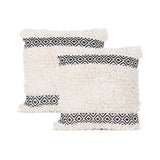 Boho Cotton Throw Pillow (Set of 2) - NH085013